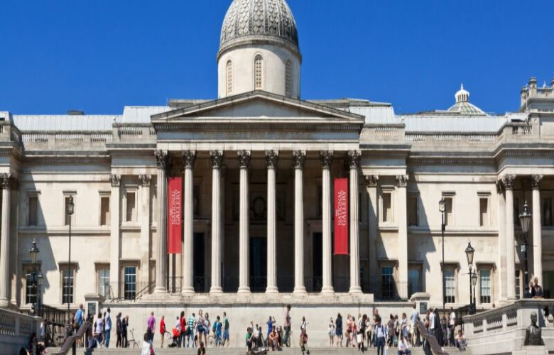 The National Gallery in London - home to a new exhibition about Tacita Dean