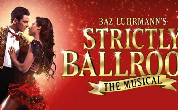 The promotional picture for Strictly Ballroom