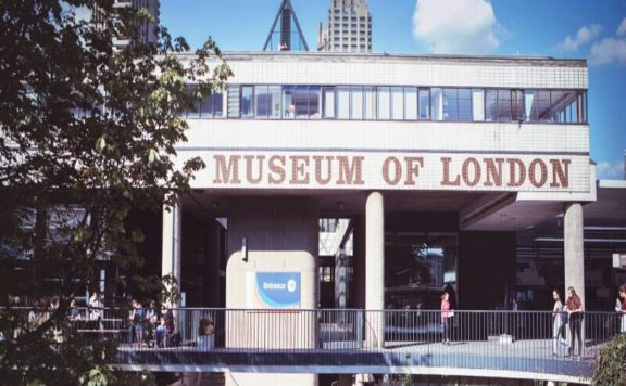 The front of the Museum of London in the Barbican