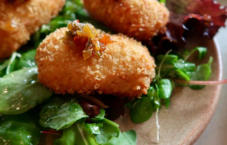 cauliflower and smoked cheddar croquettes