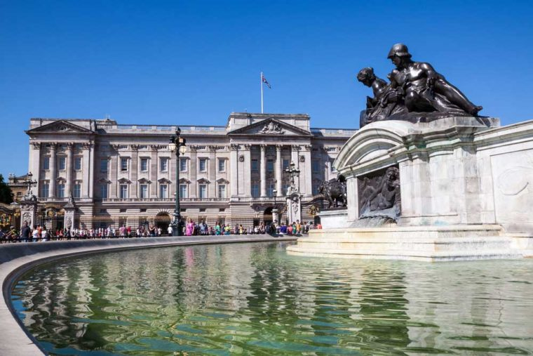 The East Front of Buckingham Palace