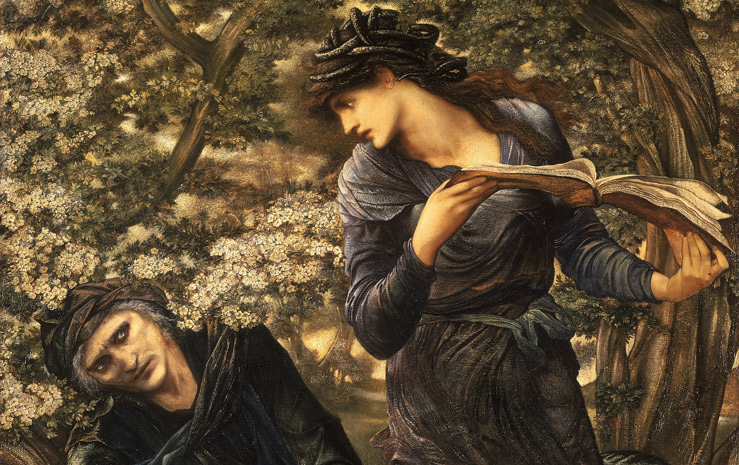 The Beguiling of Merlin by Edward Burne-Jones