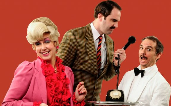 The cast of Faulty Towers - the Dining Experience