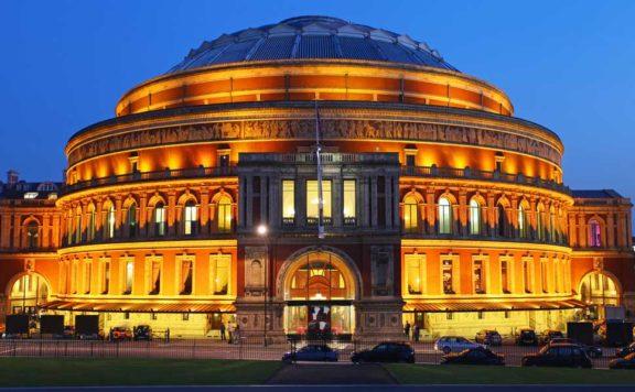 A festive carol concert in London at the Royal Albert Hall