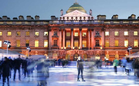 View of Skate at Somerset House