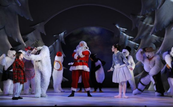 Christmas theatre in London with The Snowman