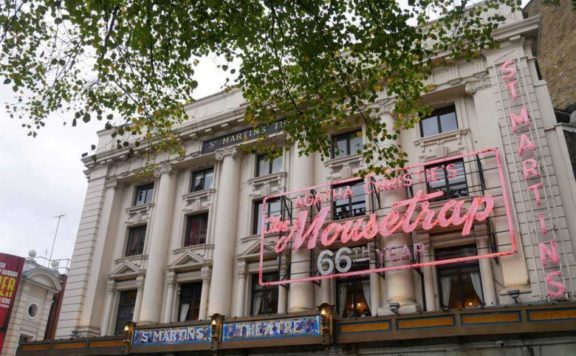The Mousetrap at St Martin's Lane Theatre
