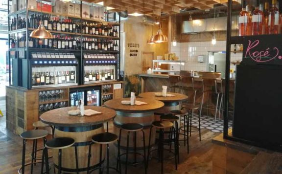 Vagabond Wine bars in London