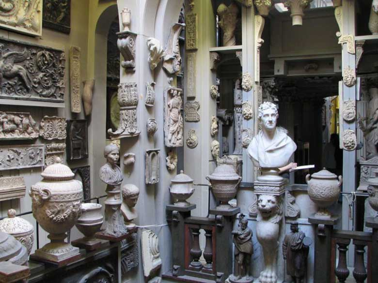 Best Small Museums in London - the John Soane's Museum