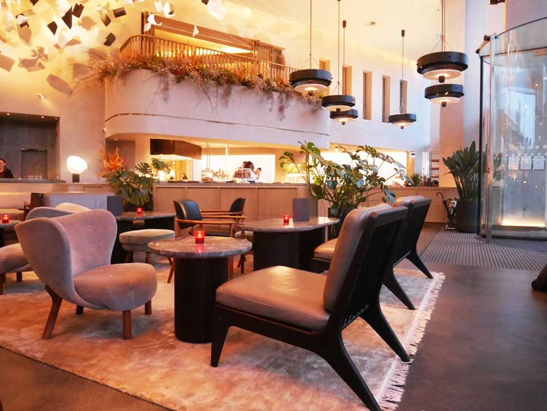 The Lobby at the Stratford Hotel
