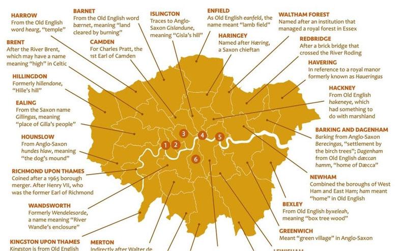 London Place Names Explained
