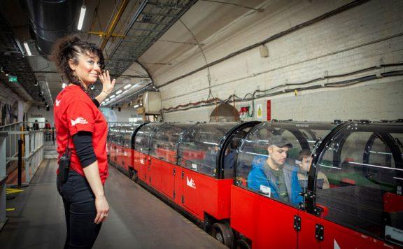 The Mail Rail Virtual Tour