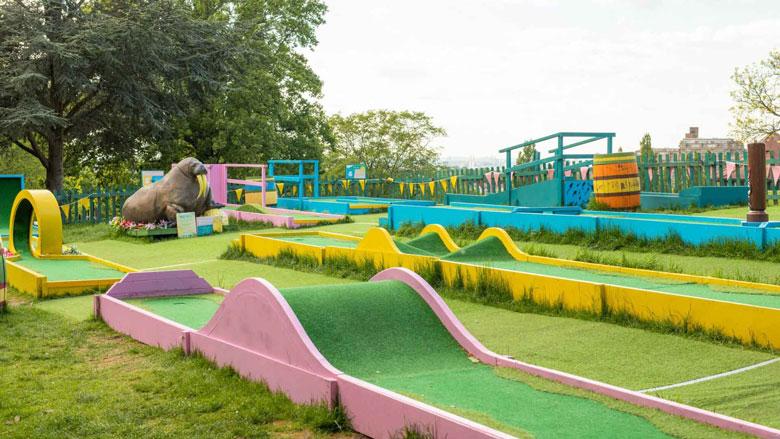 Plonk Crazy Golf, Hackney