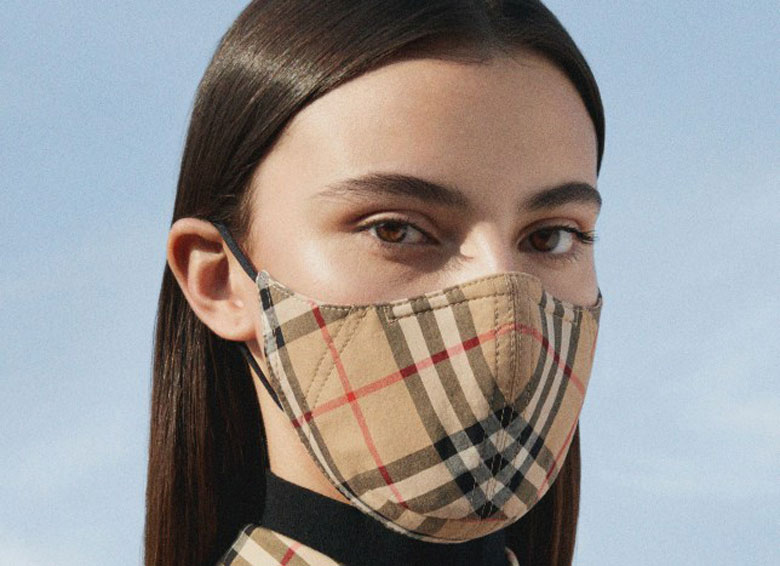 Burberry launch face mask collection