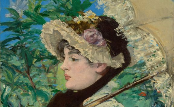 Edouard Manet, Jeanne (Spring), 1881, oil on canvas © The J Paul Getty Museum; Digital image courtesy of the Getty's Open Content Program