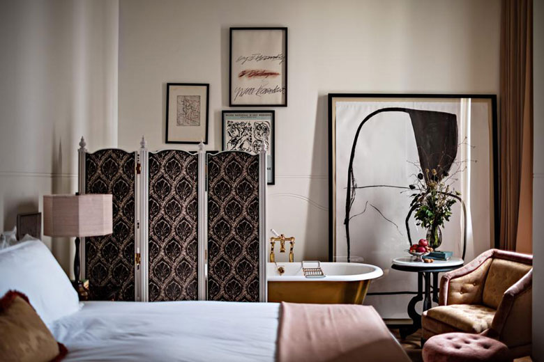 Inside the NoMad Hotel in Covent Garden
