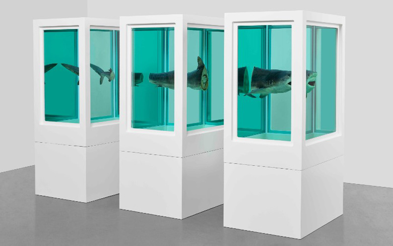 Damien Hirst Exhibition End of a century