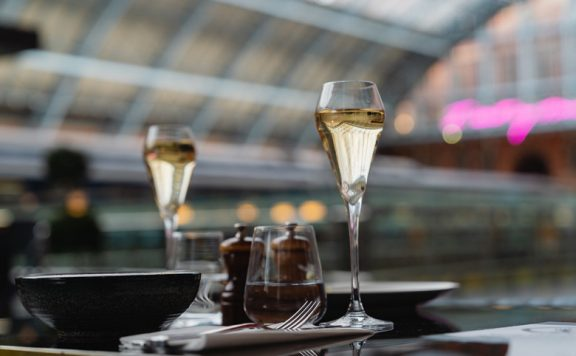 Global Champagne Day in Europe's Longest Champagne Bar