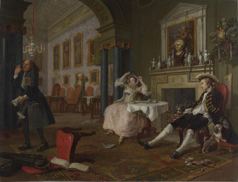 William Hogarth The Tête à Tête