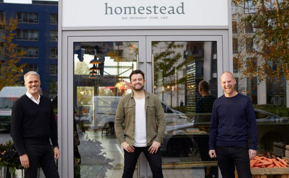 Homestead opens on London City Island