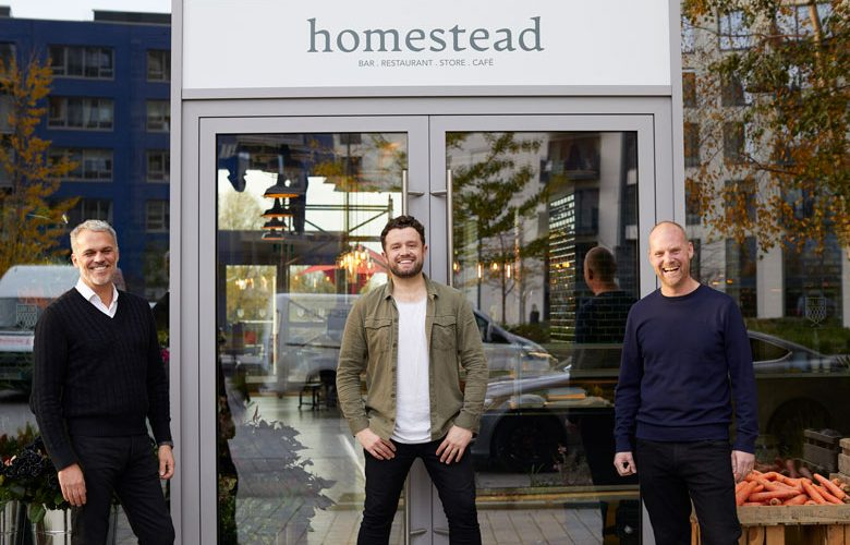 Homestead opens on London City Island