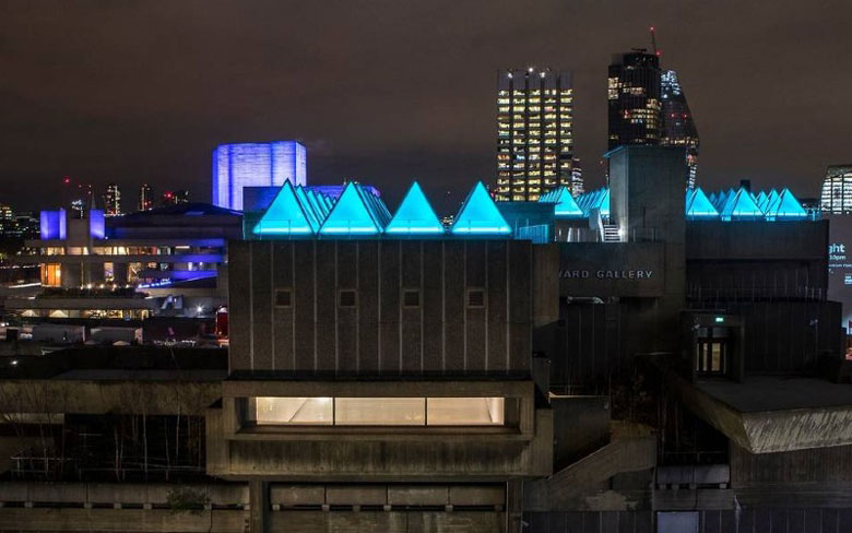 Winter Light Festival at the Southbank Centre