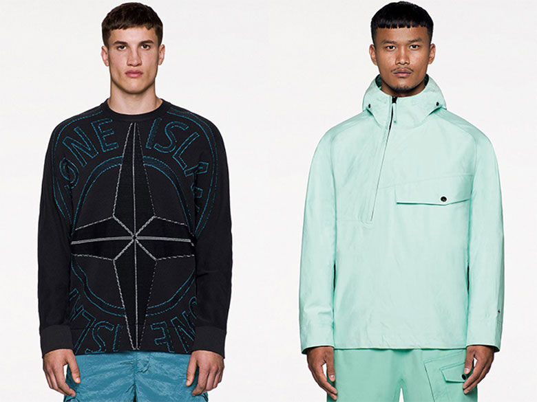 Stone Island SS21 two looks