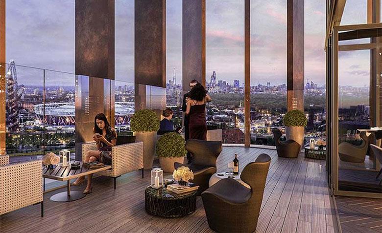 The Gantry Hotel Sky Bar