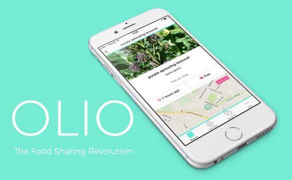 The food sharing app Olio