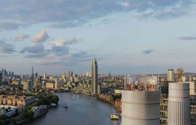 Battersea Power Station Chimney Lift