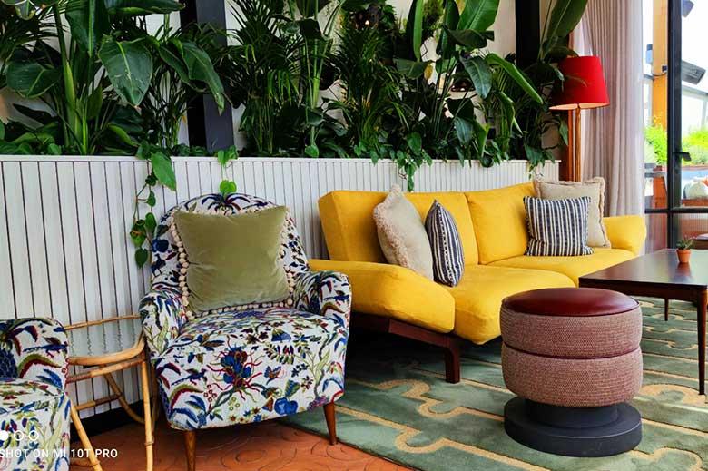Interiors at Maya Restaurant