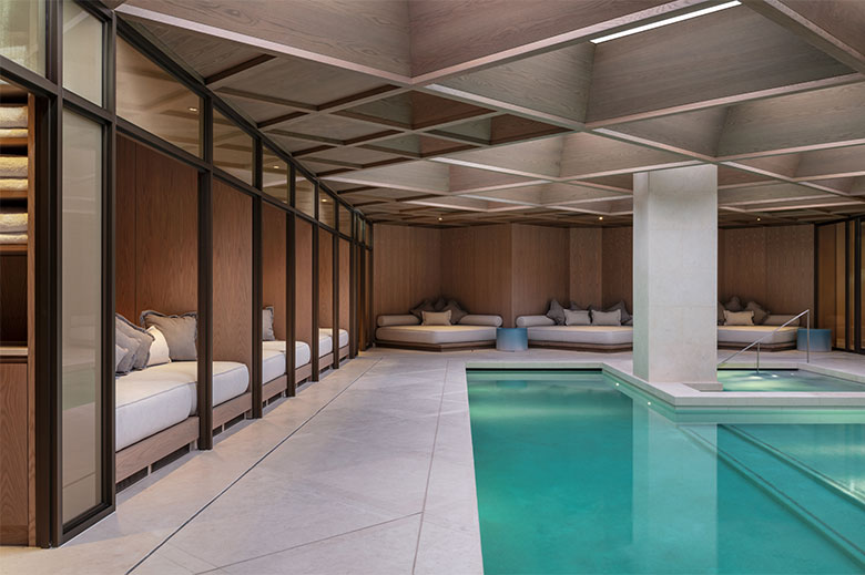 The Retreat - the pool at The Londoner